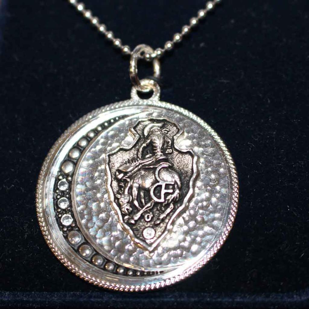 CFD Arrowhead Moon Pendant Necklace (05-012-0120)