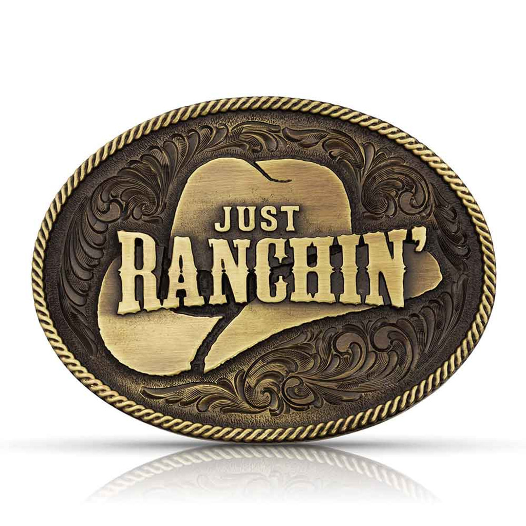 Just Ranchin' Buckle (06-002-0110)