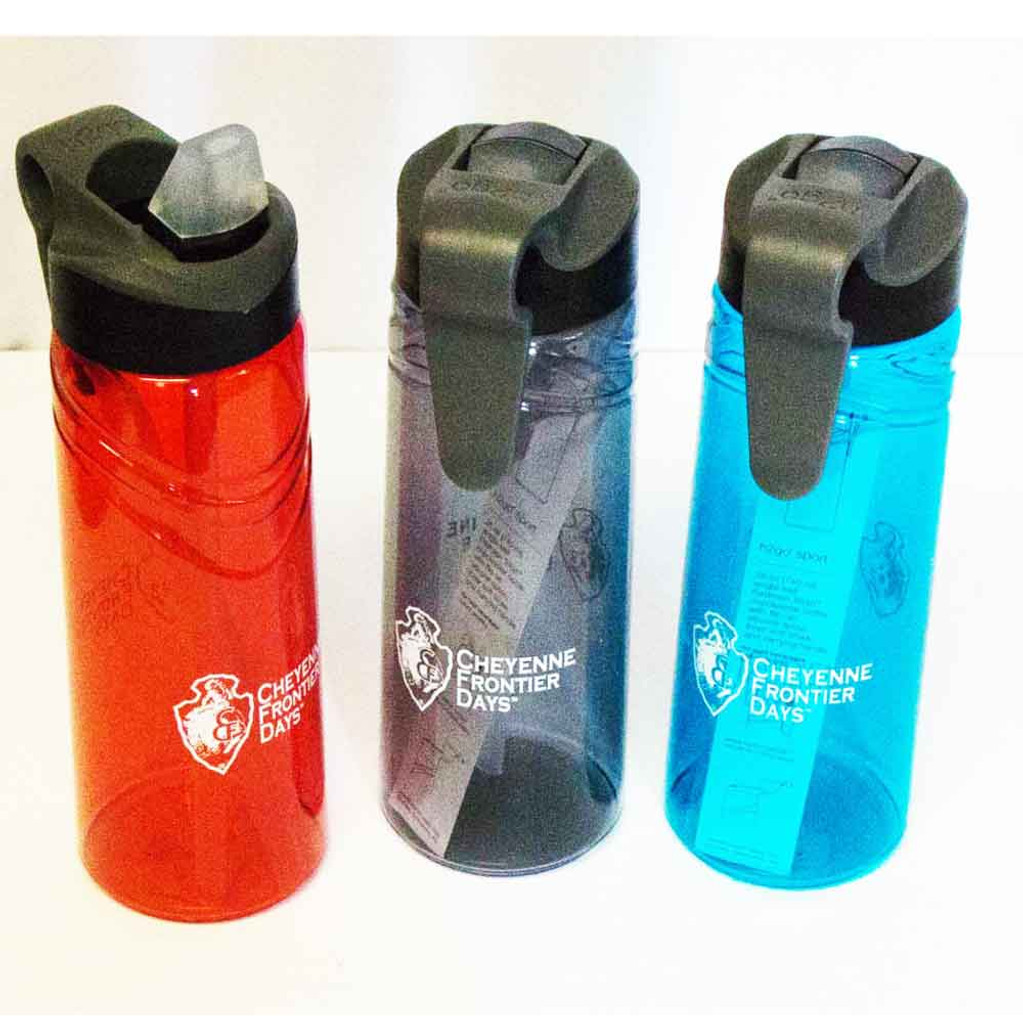 CFD BPA-FREE Flip Lid/Clip 25oz Bottle (08-004-0201)