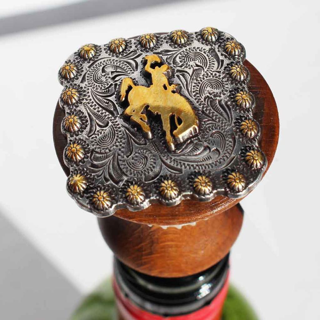 Bucking Horse Wine Stopper (10-006-0289)