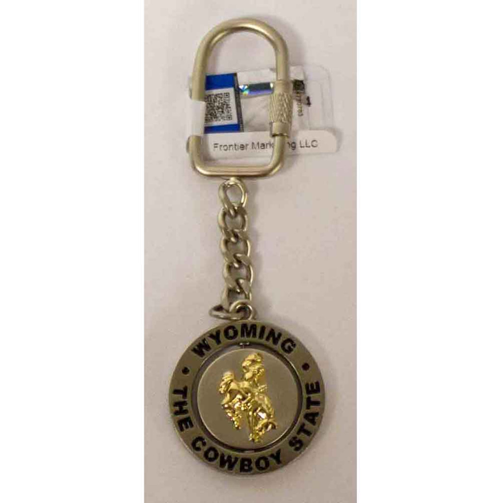 Wyoming Cowboy State Key Chain (12-002-0009)