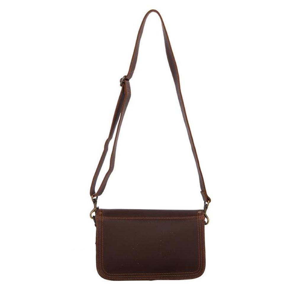 Basket Weave Crossbody Bag