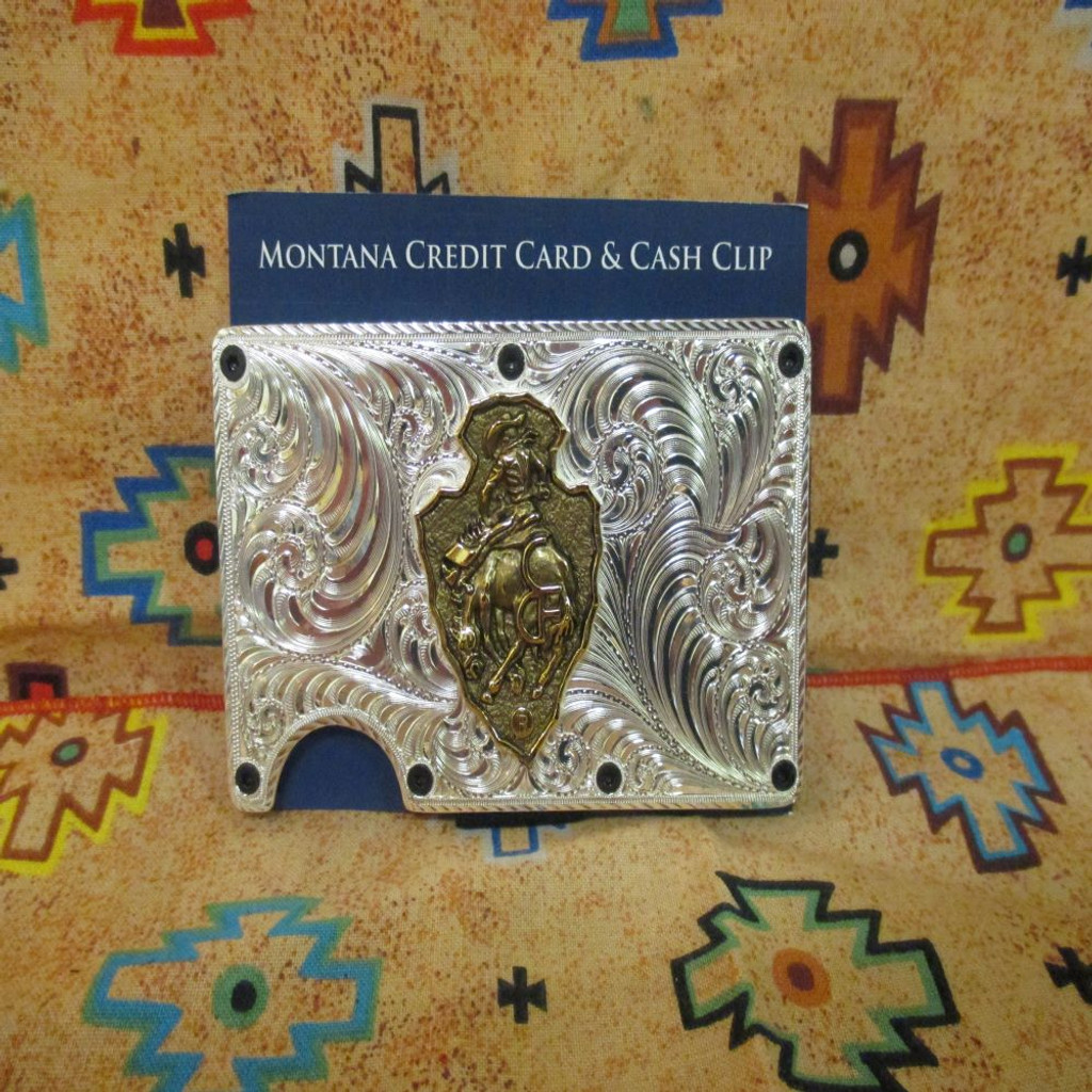 CFD Credit Card & Cash Case (Silver & Gold)