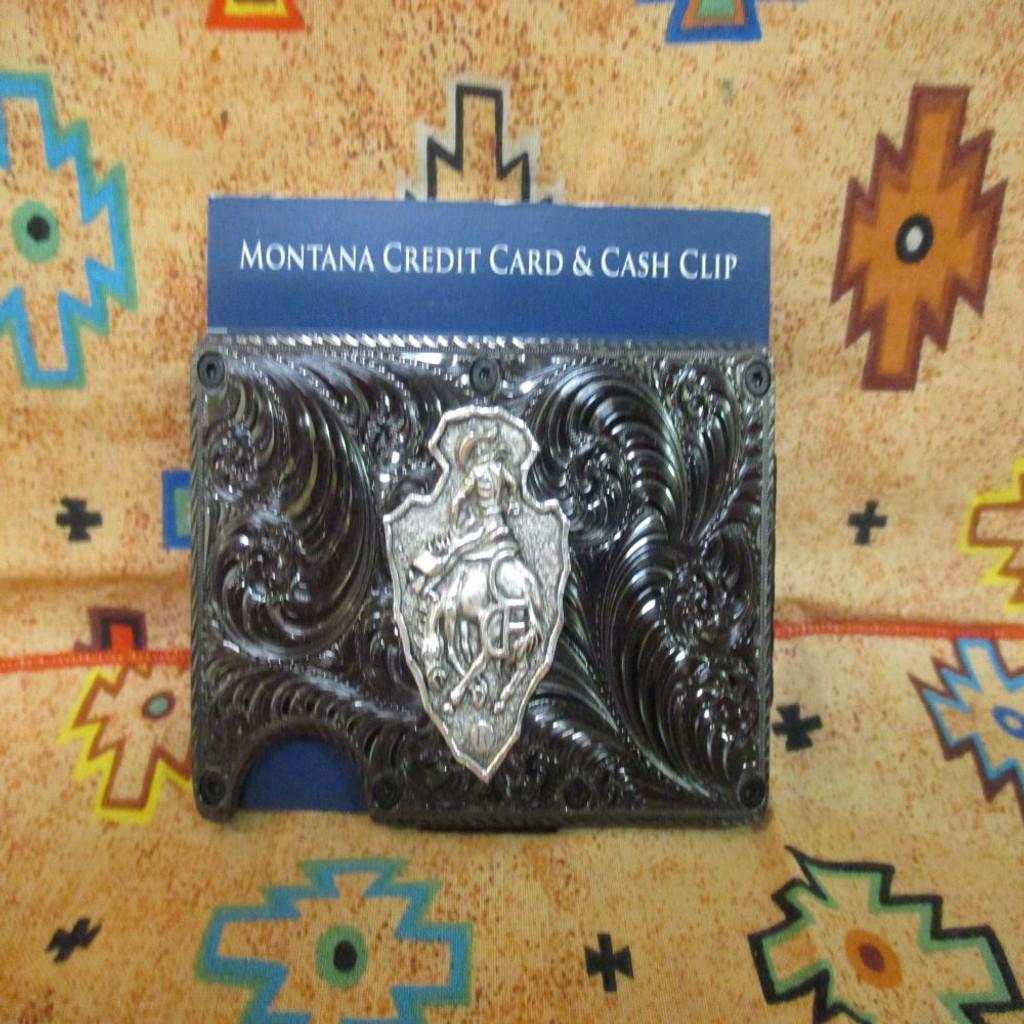 CFD Gunmetal Credit Card & Cash Case