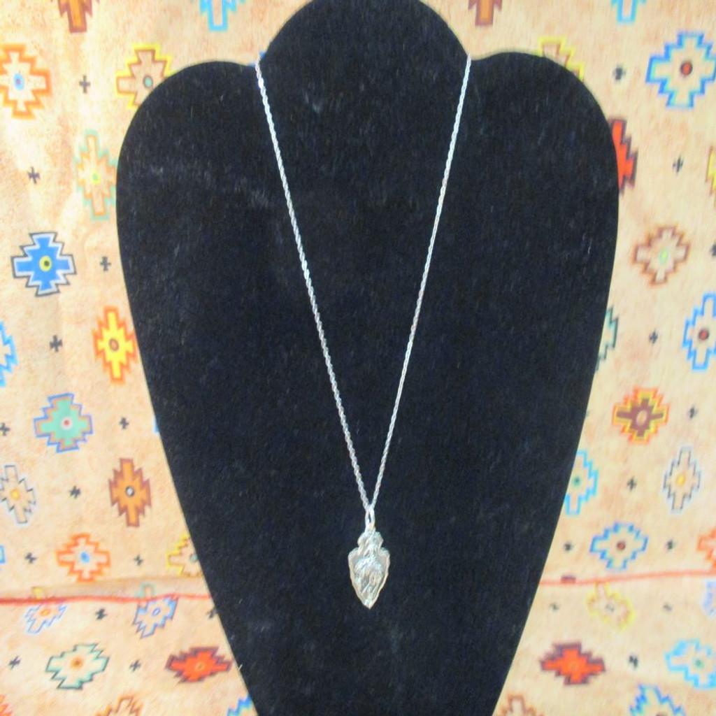 CFD Arrowhead Necklace (Silver)
