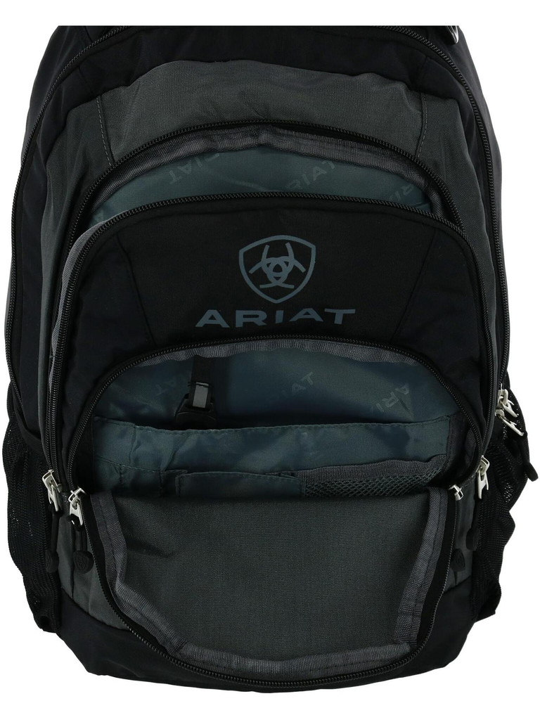 Black and Gray Unisex Backpack
