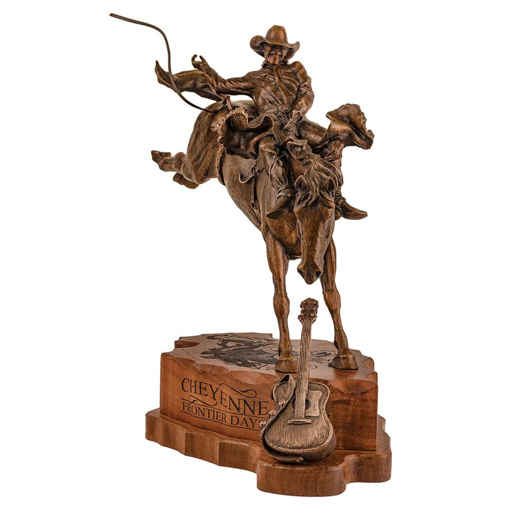 "CFD 10"" LeDoux Bronze Statue"
