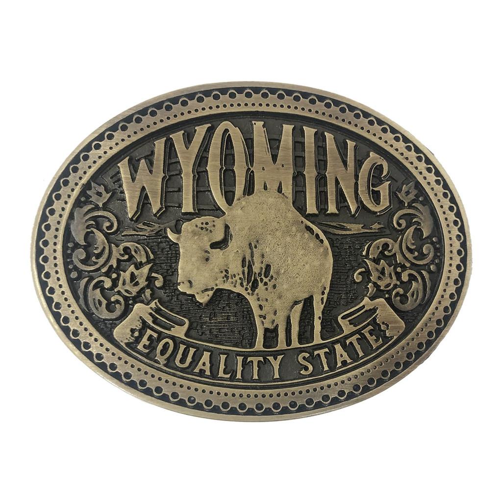 Wyoming Heritage Buckle