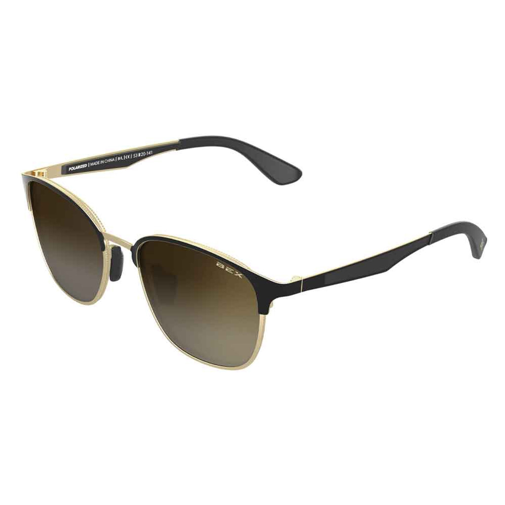 Tanaya Gold/Black Bex Sunglasses