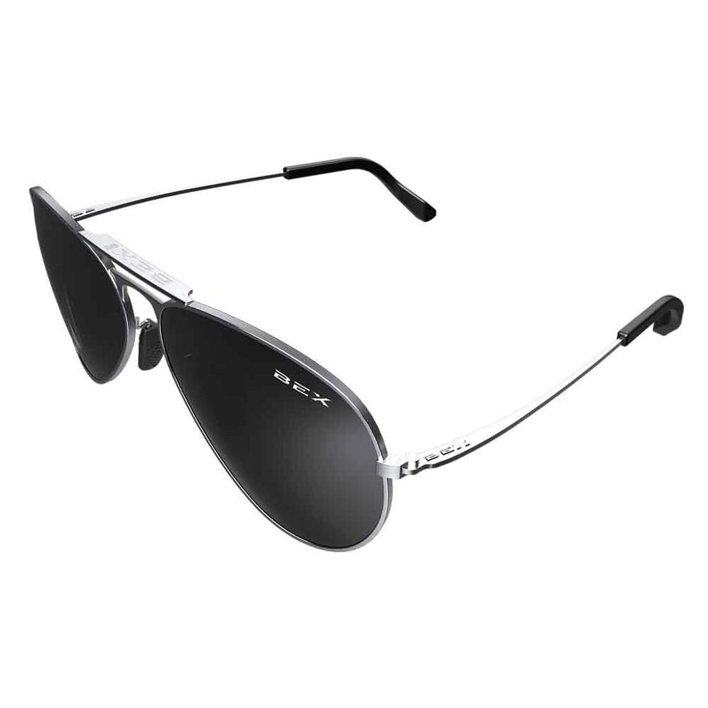 Wesley Silver/Gray Bex Sunglasses
