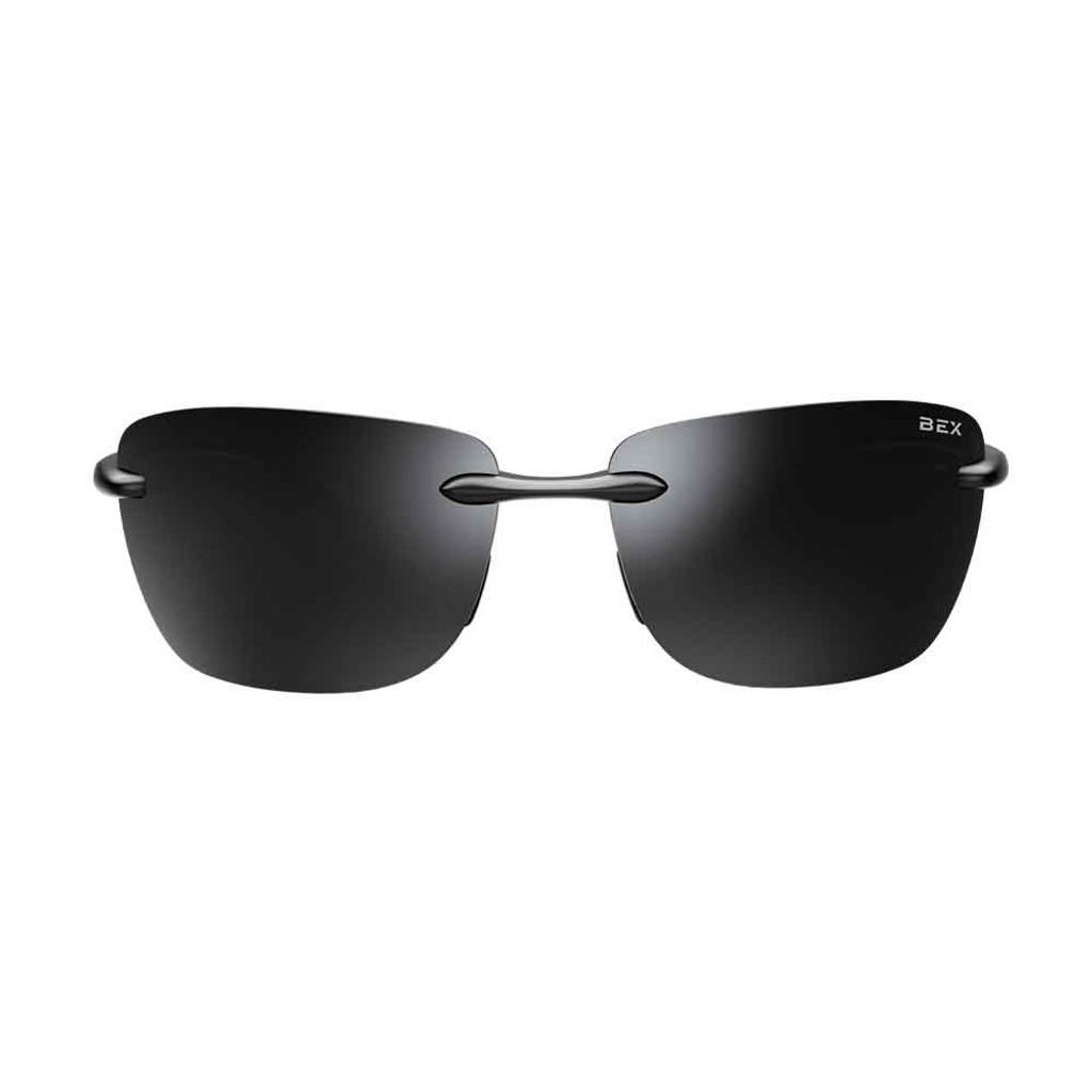 Jaxyn X Black/Gray Bex Sunglasses