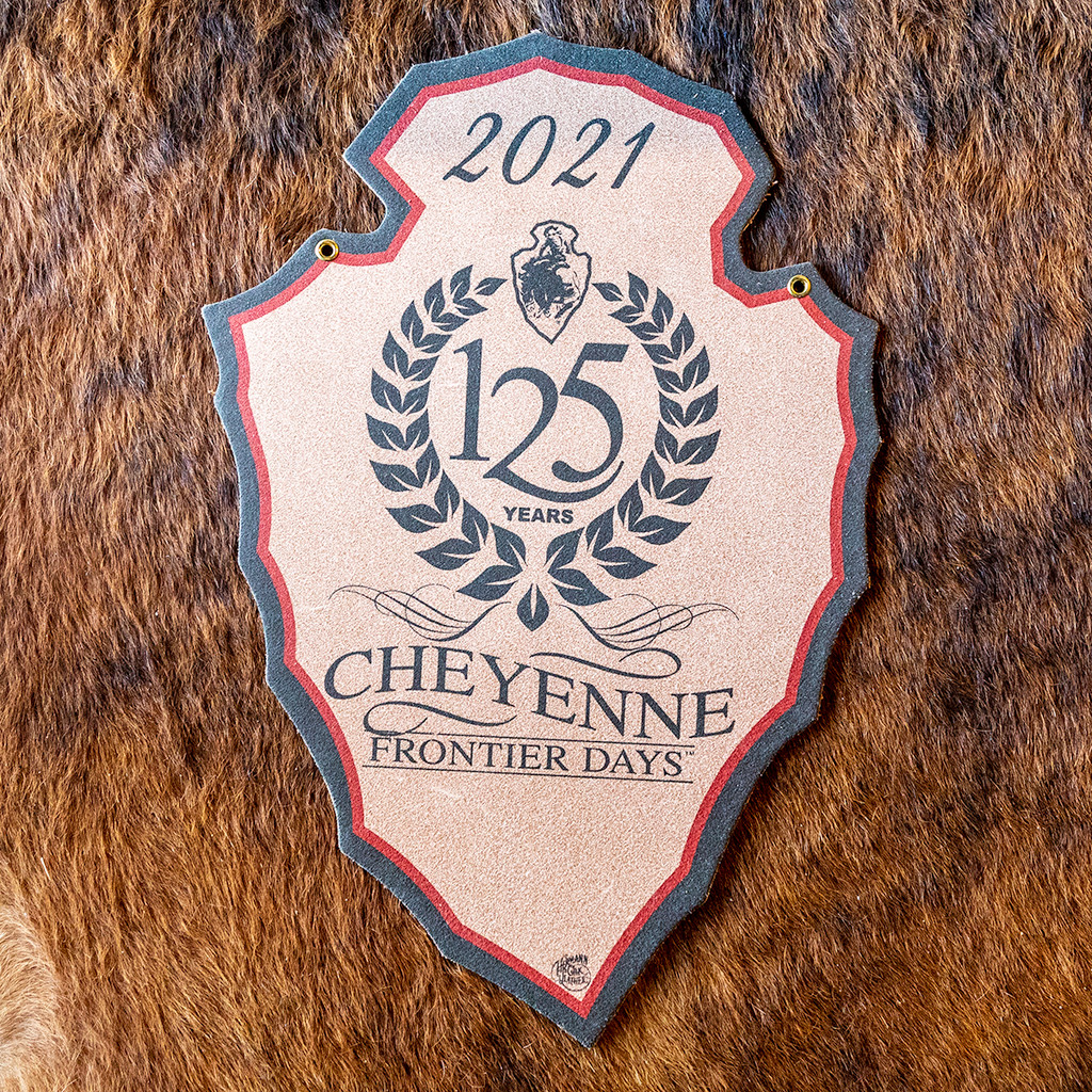 125th CFD Souvenir Leather Back Number