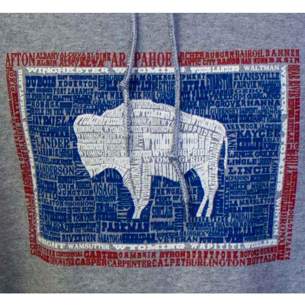 Wyoming State Flag Hood