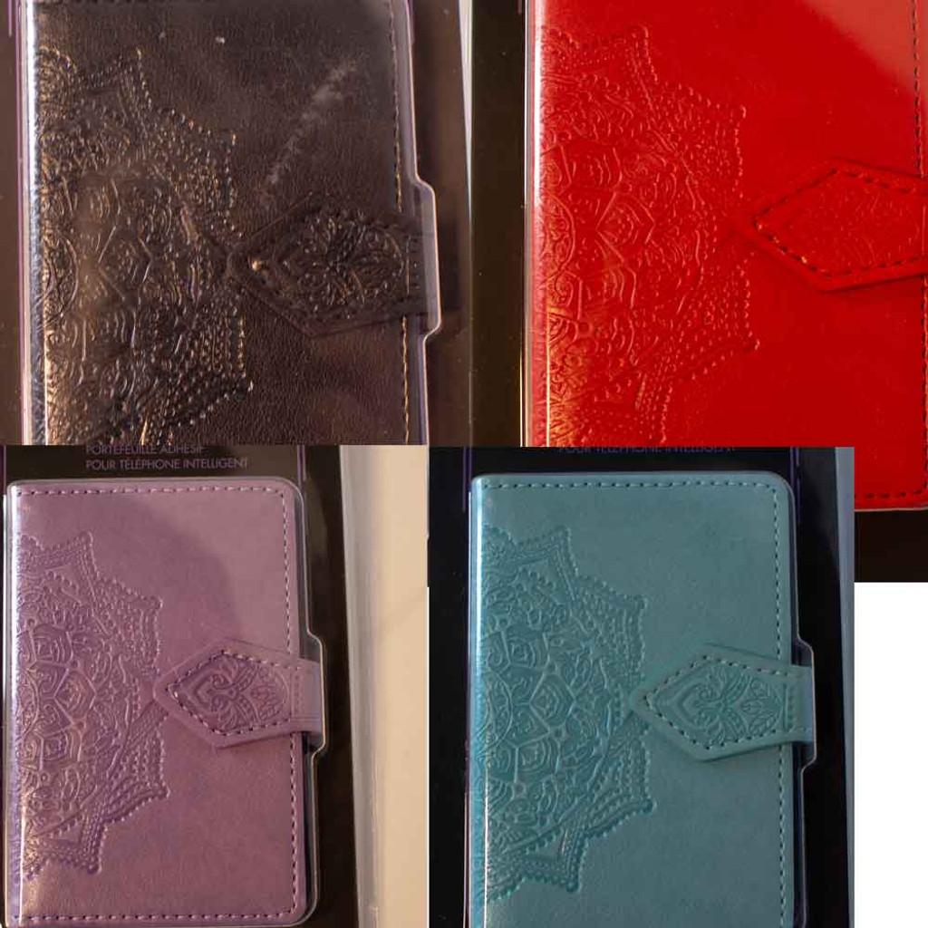 Adhesive Smartphone Wallet