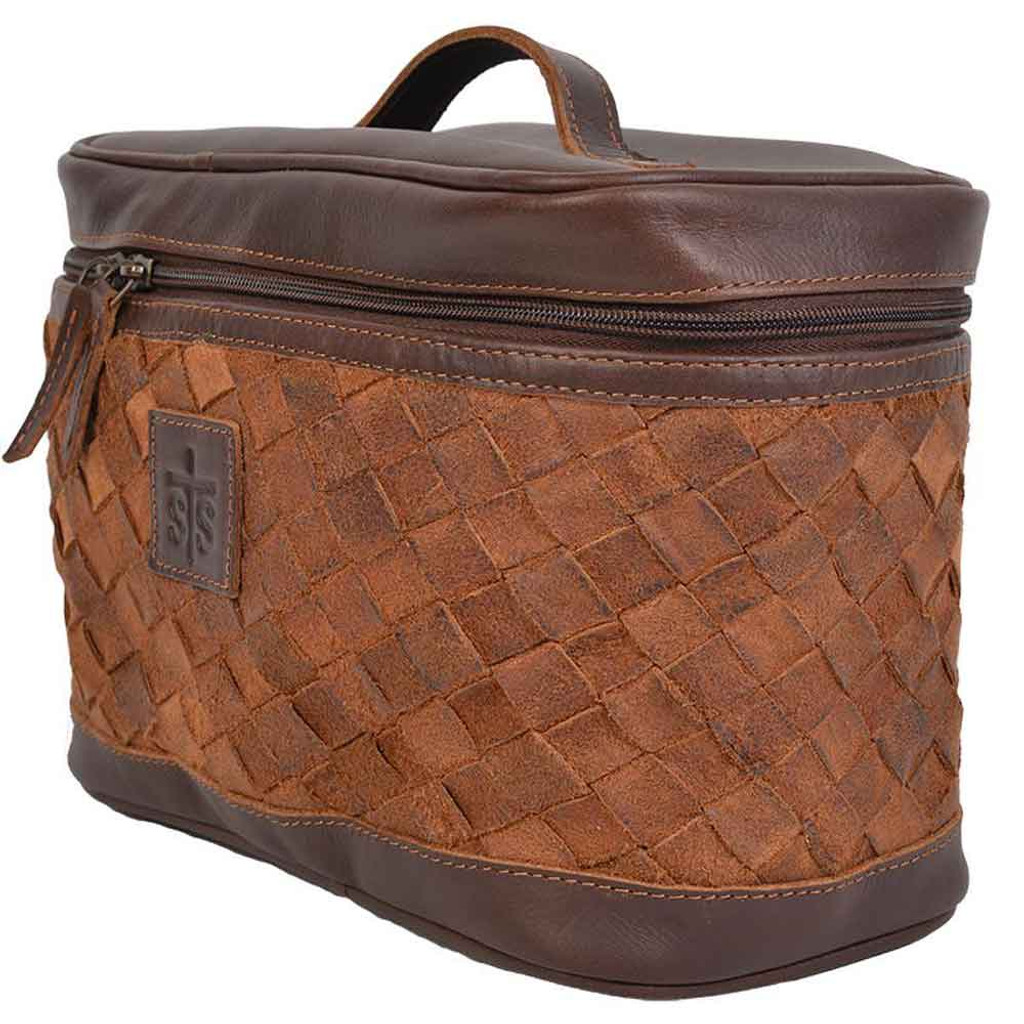 Basket Weave Train Case (01-009-0761)