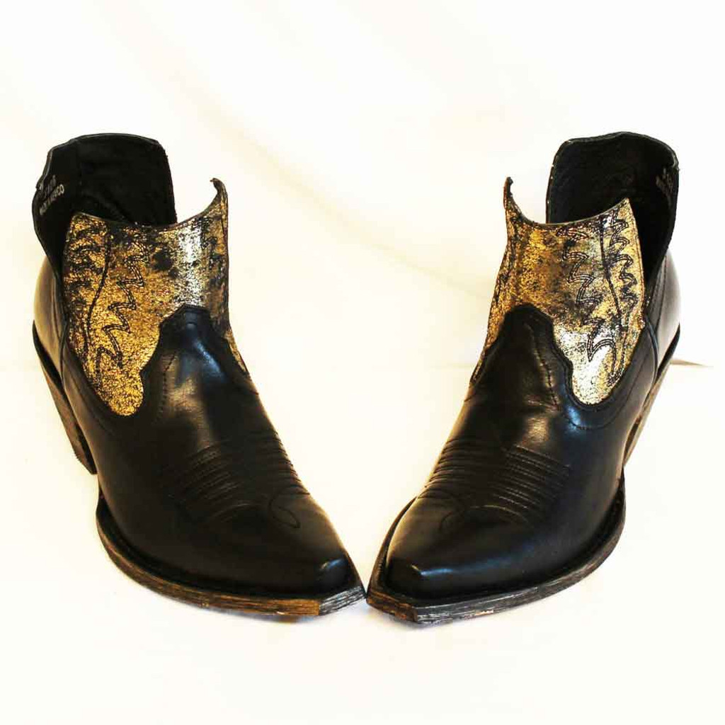 CFD Old Gringo Black Myrna Shortie Boots (01-025-0021)