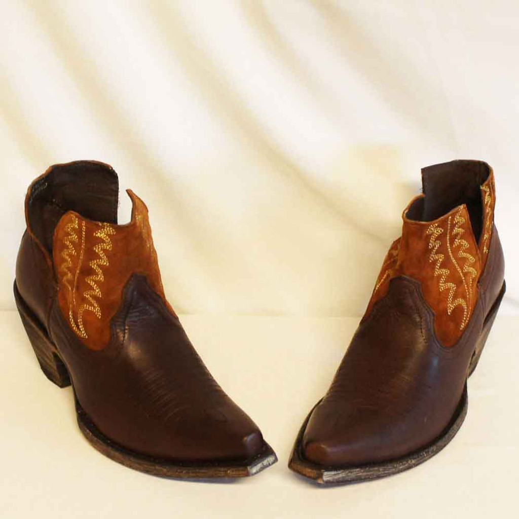 CFD Old Gringo Cognac Myrna Shortie Boots (01-025-0022)