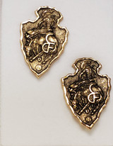 CFD Arrowhead Earring (Gold)