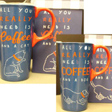 All You Really Need is Coffee and Cat/Dog Cup (08-001-0231)