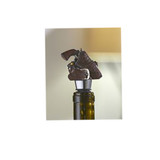 Gun & Holster Design Wine Stopper (10-006-0417)
