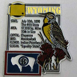 Wyoming History Montage Magnet (12-008-0186)