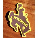 Rubber Bucking Horse Magnet (12-008-0220)