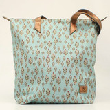 Ariat Cruiser Turquoise with Cacti Print Matcher Tote