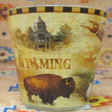 Wyoming Stamp Collection Shot Glass