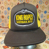King Ropes Brown & Gold Trucker Cap