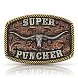 Super Puncher Longhorn Buckle