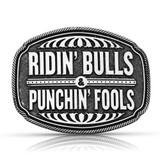 Punchin' Fools Attitude Buckle