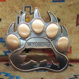 Bear Paw Bottle Opener Magnet