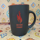 Black and Red Cheyenne Wyoming Mug