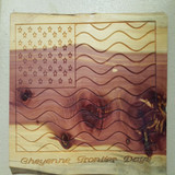Wood Cheyenne Frontier Days Flag