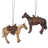"""2.5"""" Horse Ornament"""