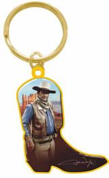 John Wayne Key Chain Boot Shape