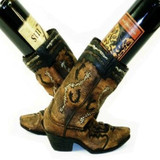 Double Boot Wine Bottle Holder