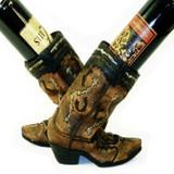 Double Boot Wine Bottle Holder