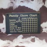 FAMILY CHORE CHART SIGN
