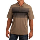 Cinch Arena Flex Tan Polo
