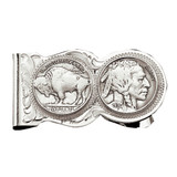 Money Clip With Indian Head