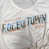 Greetings From Rodeo Time USA Tee
