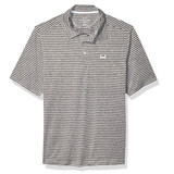 Striped Grey Polo