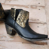 CFD Old Gringo Black Myrna Shortie Boots (01-025-0021)