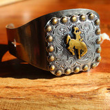 Bucking Horse Concho Cuff Bracelet (05-001-1164)