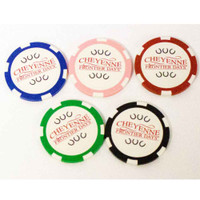 5 Pack CFD Poker Chips (12-010-0186)