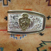 CFD Softly Roped Money Clip (Gold)