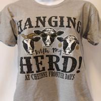 """Hanging with my Herd"" Tee"