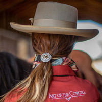 Art of the Cowgirl Scarf Slide/Hair Tie