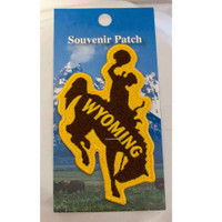 Wyoming Bucking Horse patch